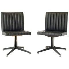 Ward Bennett Side Chairs