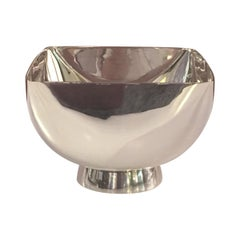 Ward Bennett Silver Plate Small Bowl