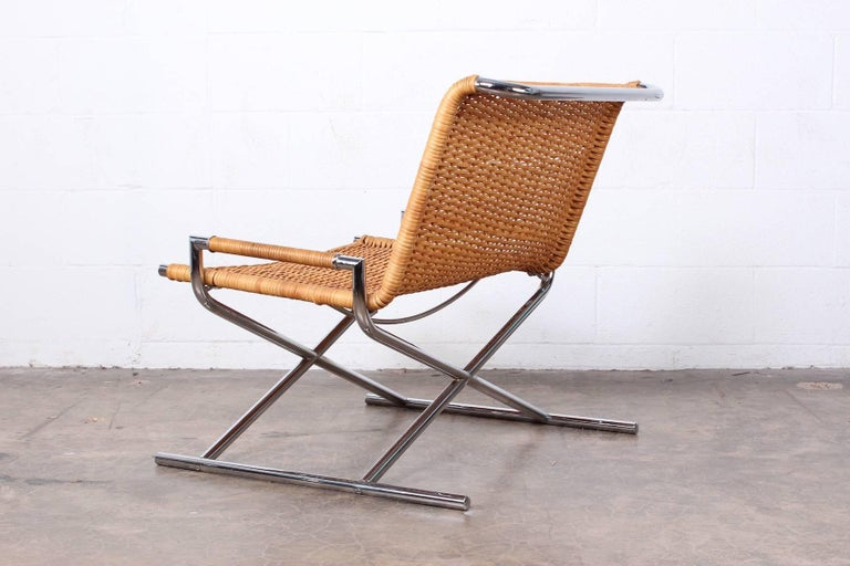 Ward Bennett Sled Chair For Sale 1