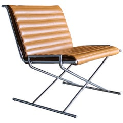 "Ward Bennett ""Sled"" Lounge Chair for Geiger"