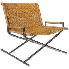 Ward Bennett Woven Sled Chair
