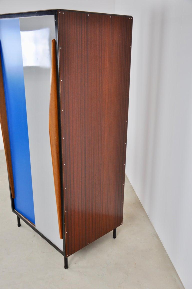 Wardrobe by Willy Van Der Meeren for Tubax, 1950s For Sale 2
