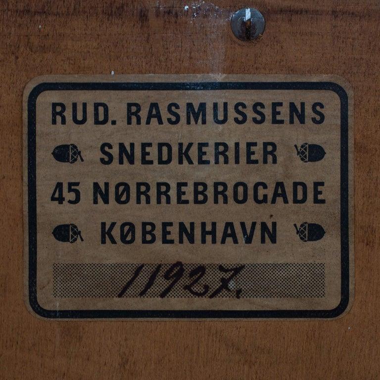 Wardrobe in Oak by Rud Rasmussen In Fair Condition For Sale In Copenhagen, DK
