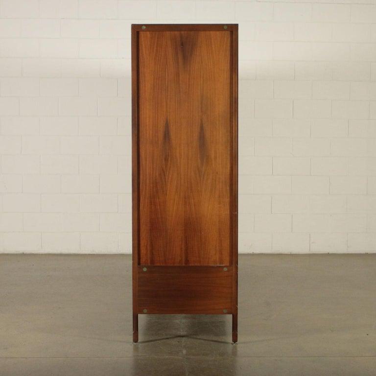 Wardrobe Wood and Teak Veneer Vintage, Italy, 1960s For Sale 9