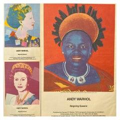 Warhol African Queens Advertisements, 1985