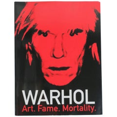 Warhol Art, Fame, Mortality, Exhibition Book