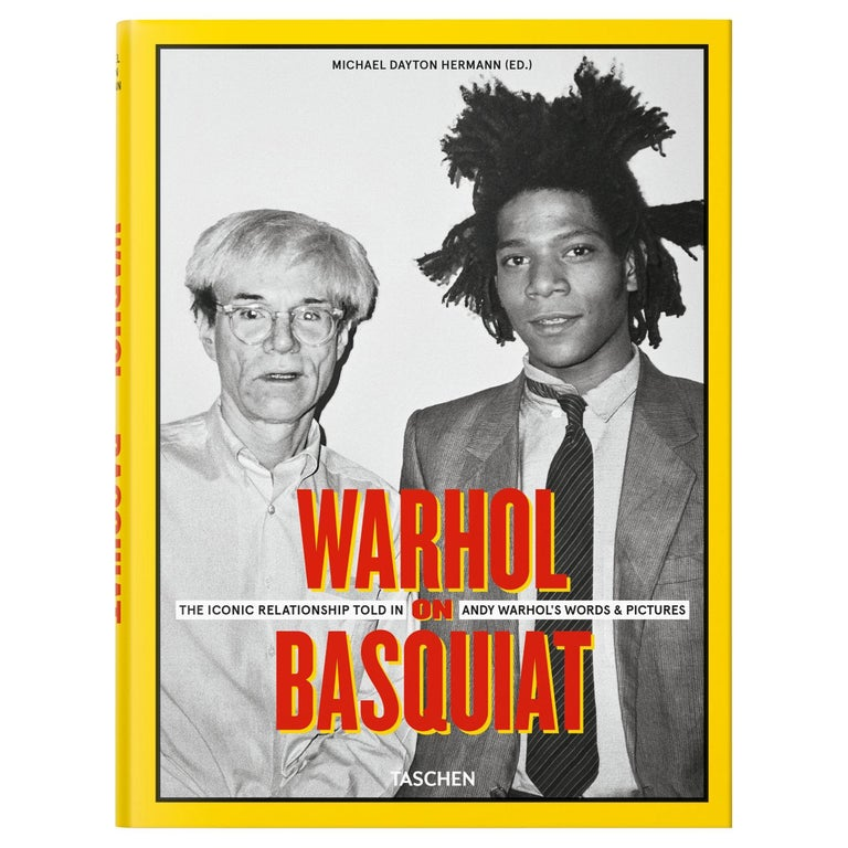 <i>Warhol on Basquiat: The Iconic Relationship Told in Andy Warhol's Words and Pictures</i>, 2019, offered by Taschen