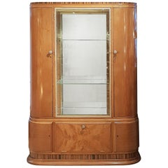 Waring & Gillow Art Deco Display Cabinet