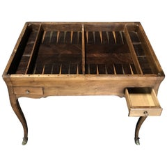 Warm and Wonderful 19th Century Antique Walnut Game or Side Table