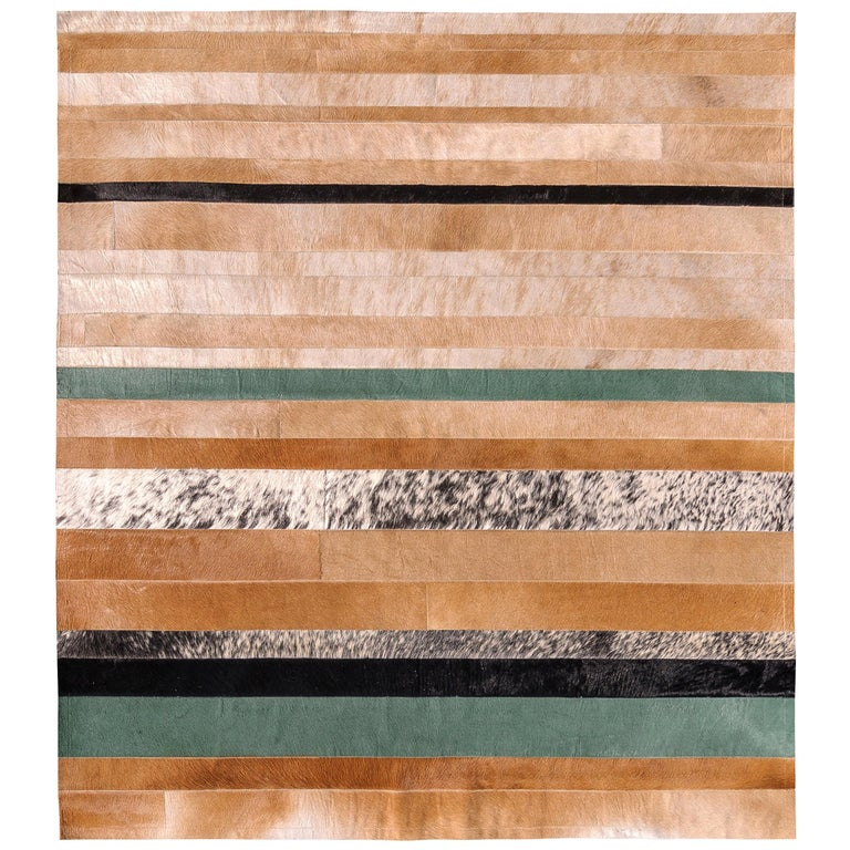 black and green striped Division Large