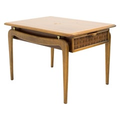 Warren Church for Lane Perception Mid Century Rectangle Nightstand Side End Tabl