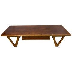 Warren Church for Lane Perception Walnut Coffee Table