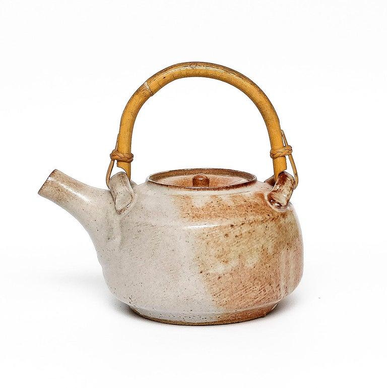 Shino Teapot by Warren MacKenzie For Sale 1