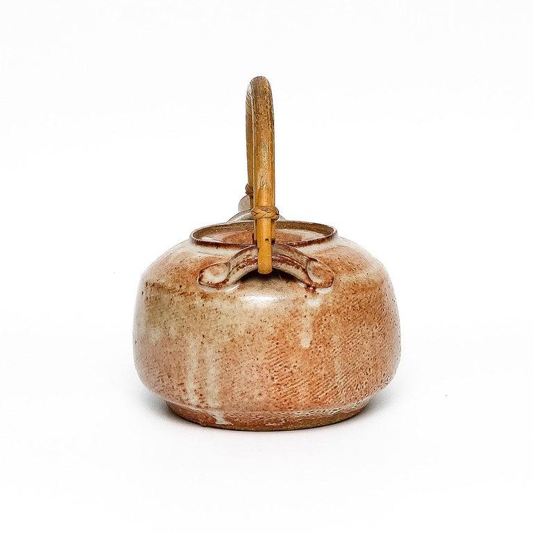 Shino Teapot by Warren MacKenzie For Sale 2
