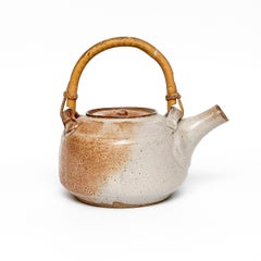 Shino Teapot by Warren MacKenzie