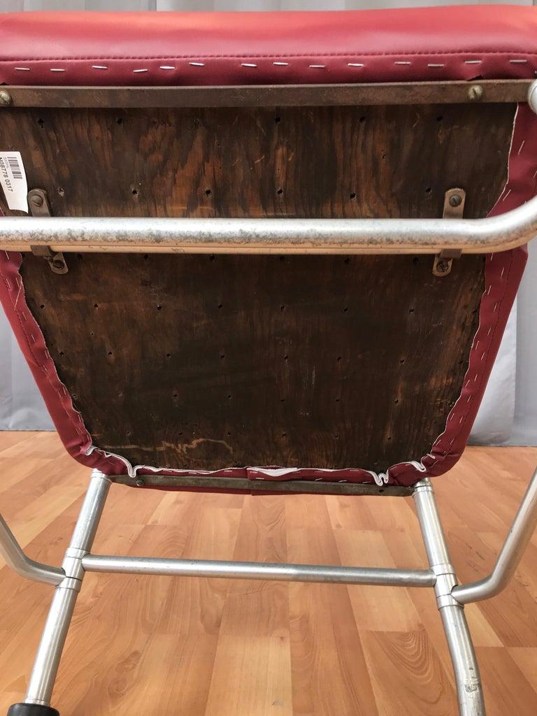 Warren McArthur Art Deco Aluminum Armchair, 1930s For Sale 13