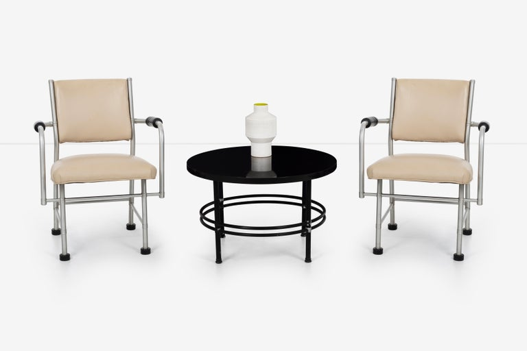 Warren McArthur Pair of Chairs a Revision of The Sardi's Chair For Sale 4