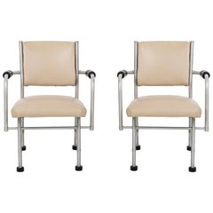 Warren McArthur Pair of Chairs a Revision of The Sardi's Chair