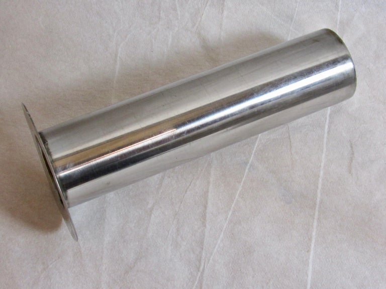 Warren McArthur Stainless Steel Smoking Stand, 1934-1935 For Sale 1