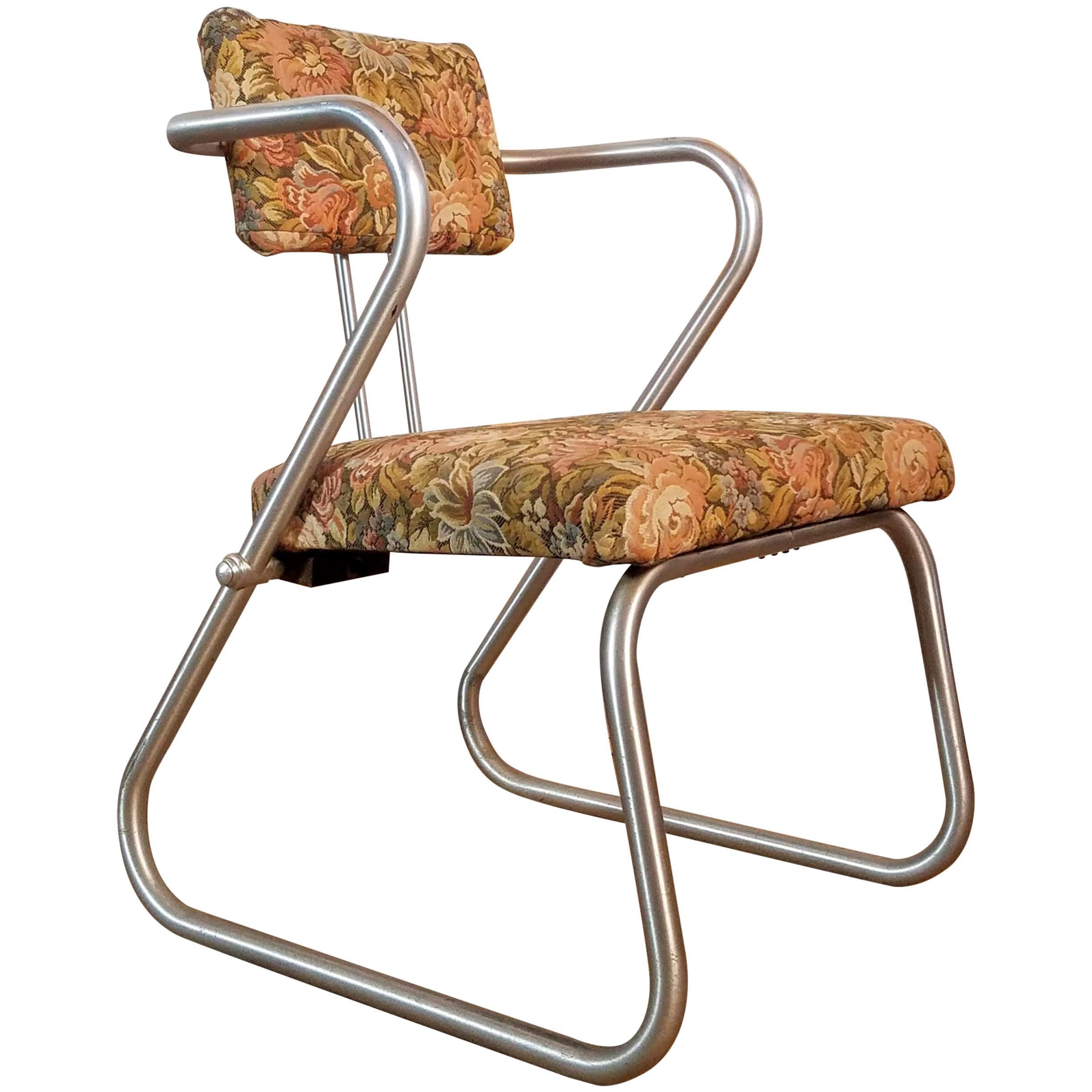 Warren McArthur Z Chair Model 708, circa 1938