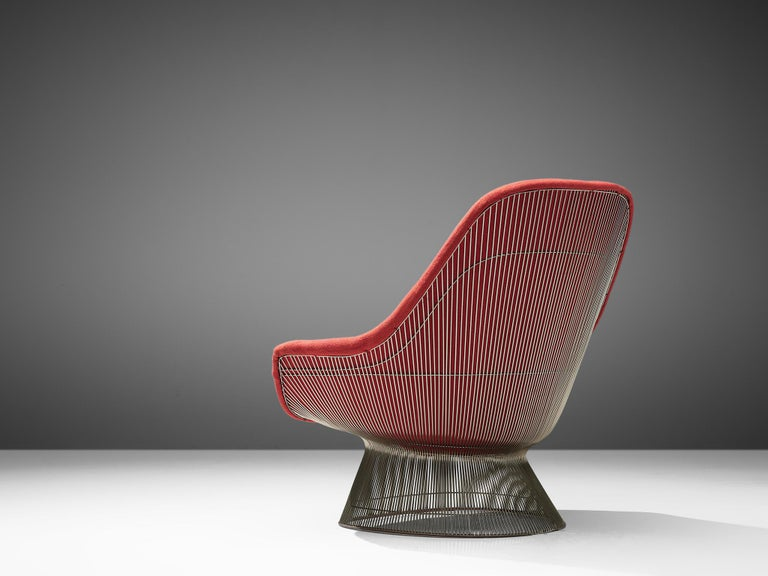Warren Platner '1705' Easy Chair for Knoll In Good Condition For Sale In Waalwijk, NL