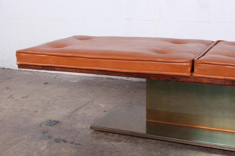 Warren Platner Bench for Lehigh Leopold For Sale 1