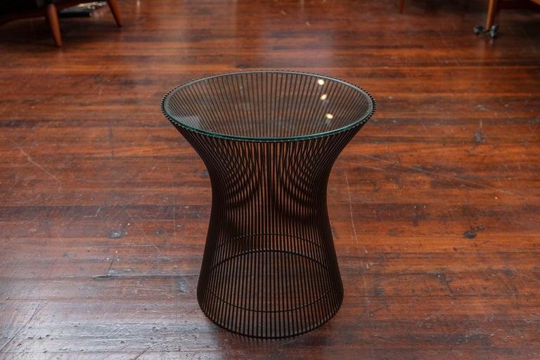 Warren Platner Bronze Side Table for Knoll For Sale 2
