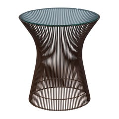 Warren Platner Bronze Side Table for Knoll