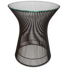 Warren Platner Bronze Side Table