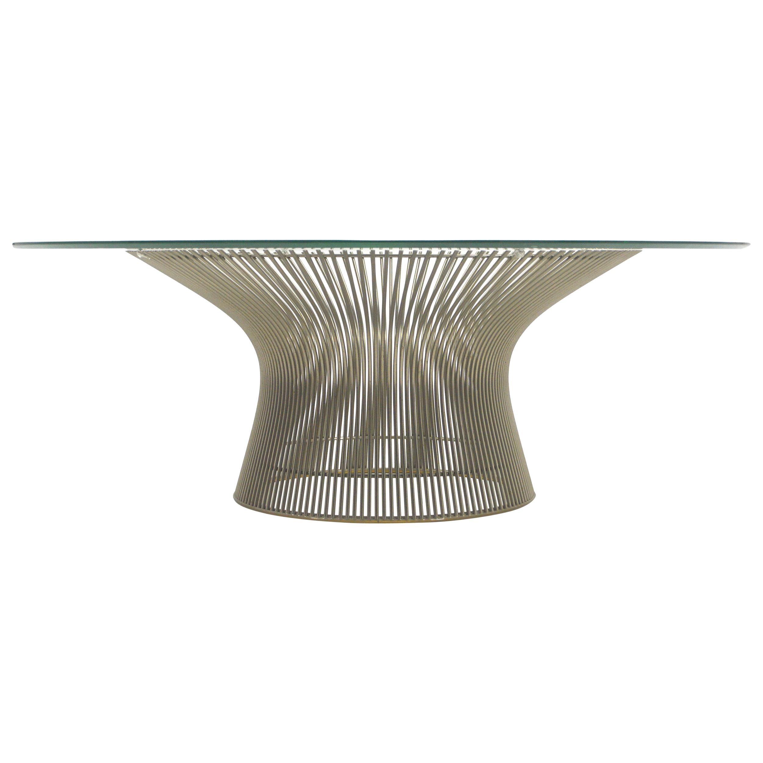 Warren Platner Coffee Table by Knoll