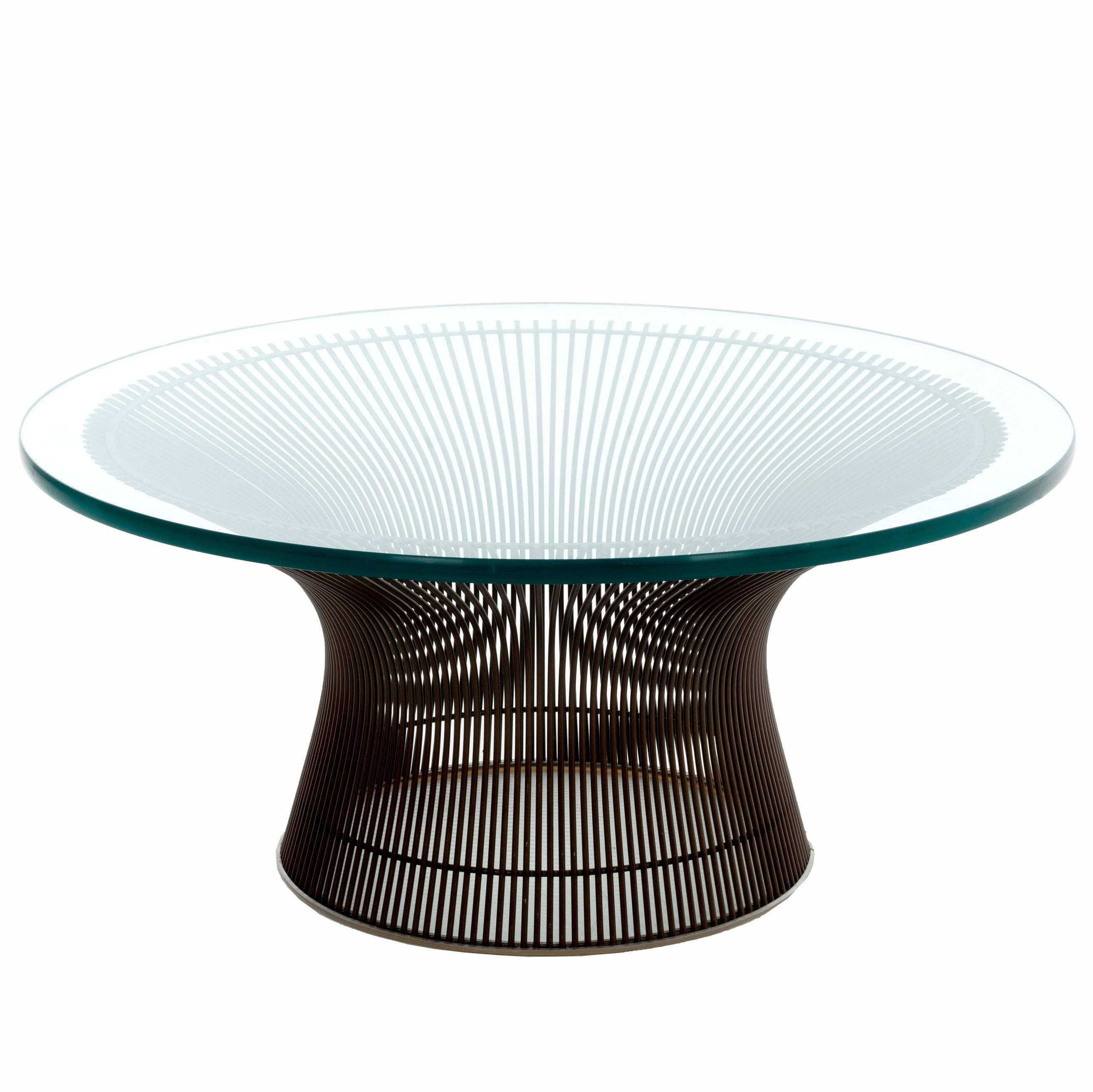 Exceptionnel Warren Platner Coffee Table For Sale