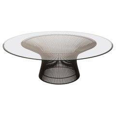Warren Platner Coffee Table in Bronze by Knoll