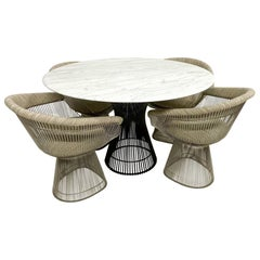 Warren Platner Dining Table and Chairs for Knoll Mid-Century Modern