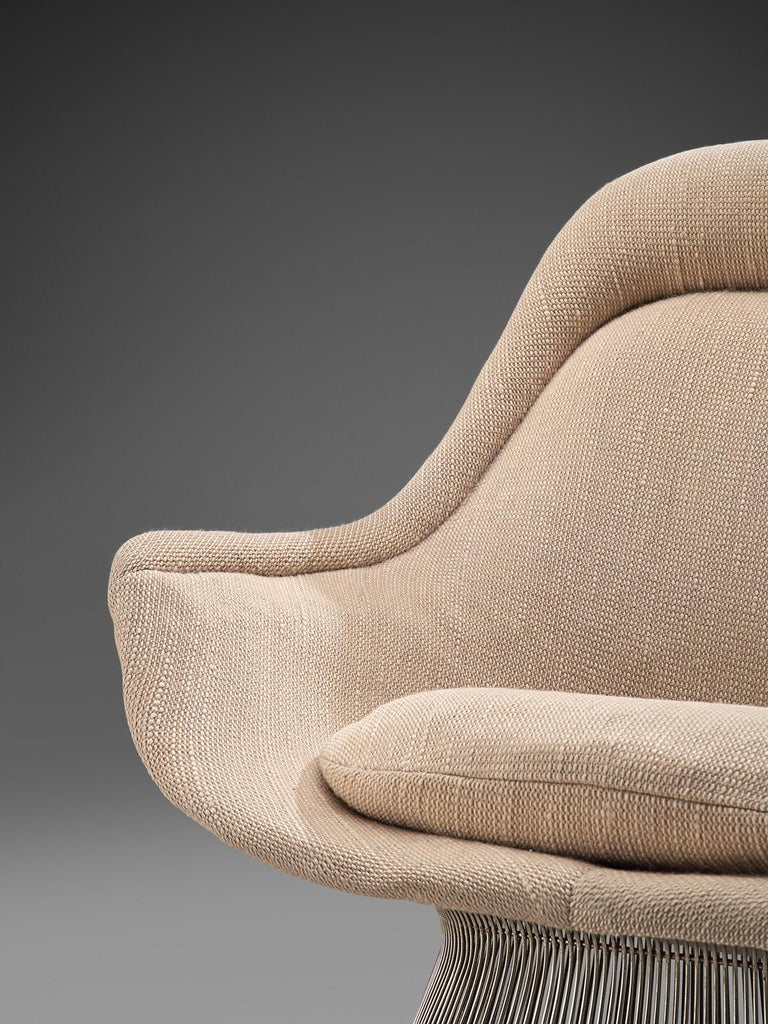 Warren Platner Easy Chair and Ottoman for Knoll For Sale 1