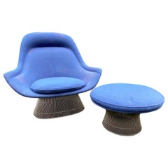 Warren Platner Easy Chair and Ottoman for Knoll