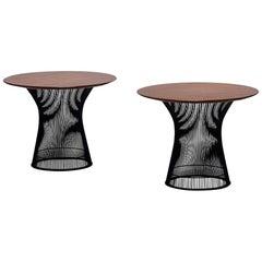 Warren Platner for Knoll Associates Occasional Tables, a Pair