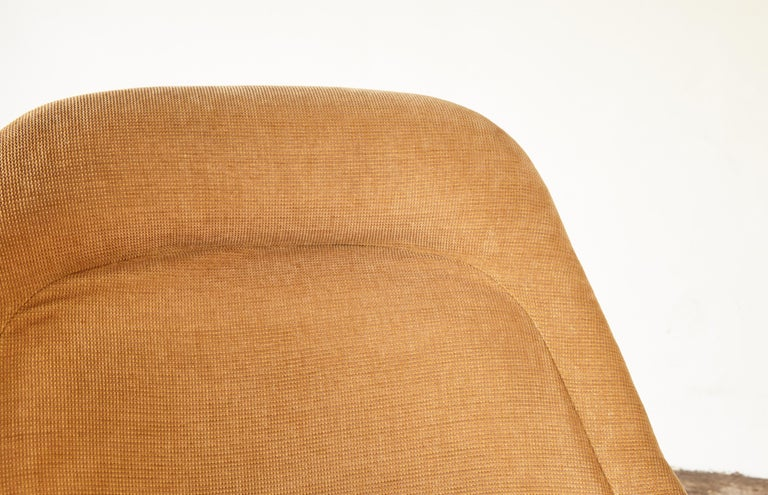 Warren Platner for Knoll Bronze Lounge Chair and Ottoman, USA, 1960s/70s For Sale 5