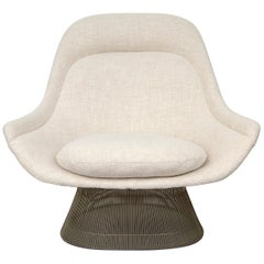 Warren Platner for Knoll Chair Reupholstered in New Maharam Wool Fabric