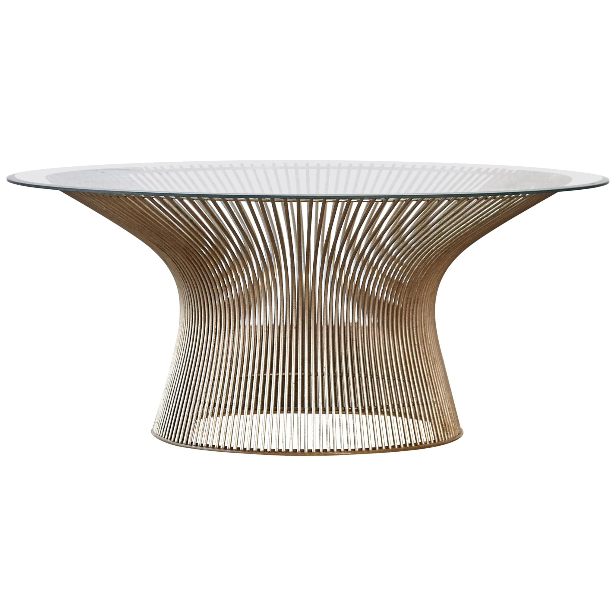 Warren Platner for Knoll Coffee Table, USA, 1970s