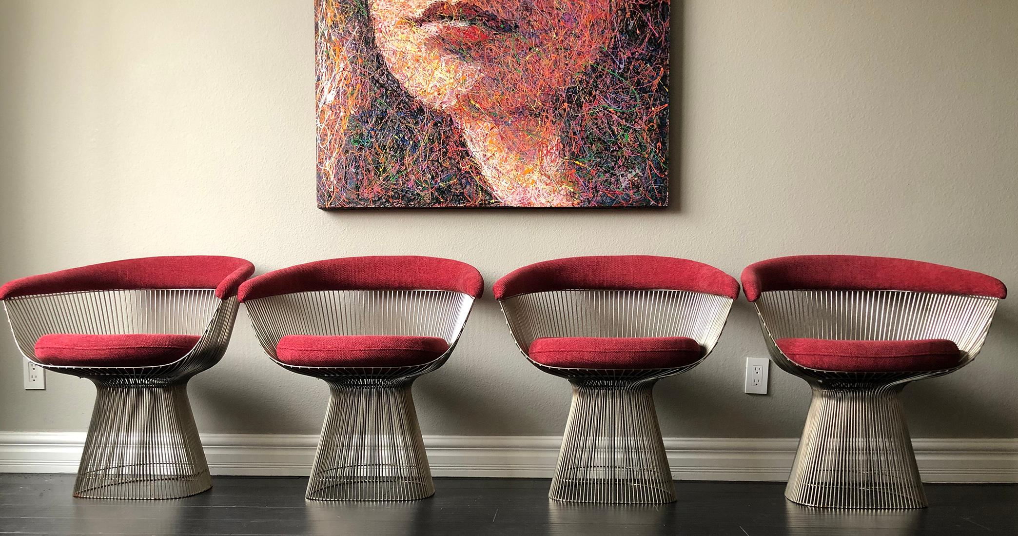 Warren Platner Chairs Listed On 1stDibs, A Great Place To Buy Vintage  Mid Century
