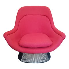 Warren Platner for Knoll International Steel Lounge Chair
