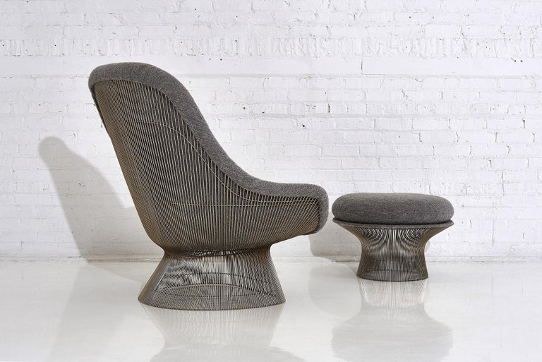 Warren Platner for Knoll Lounge Chair with Ottoman 1