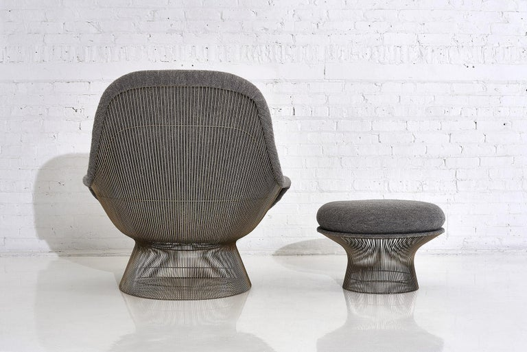 Warren Platner for Knoll Lounge Chair with Ottoman 2