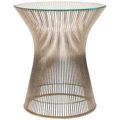 Warren Platner for Knoll Nickel-Plated Side Table