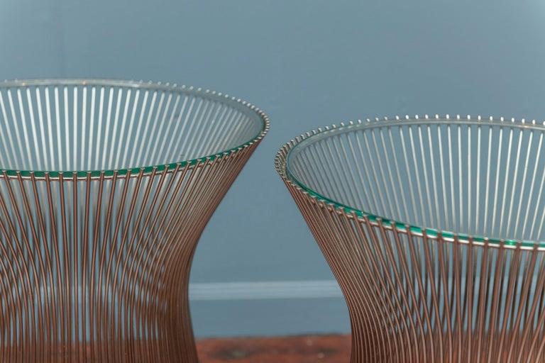 Mid-Century Modern Warren Platner for Knoll Side Tables For Sale