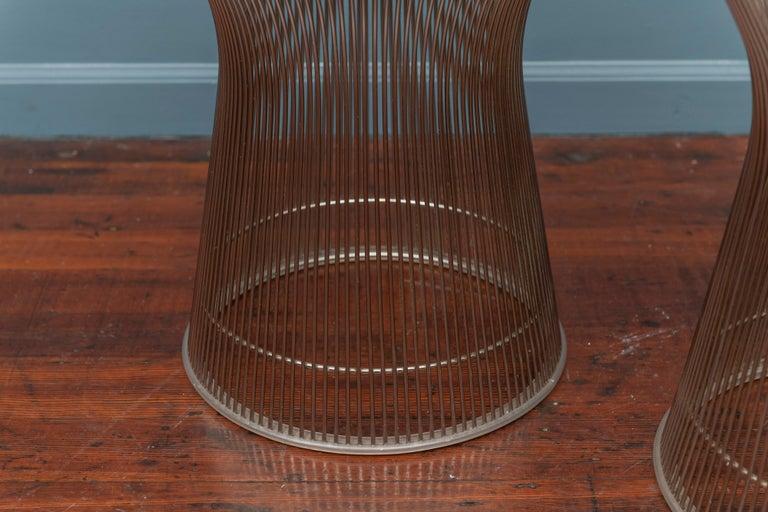 American Warren Platner for Knoll Side Tables For Sale