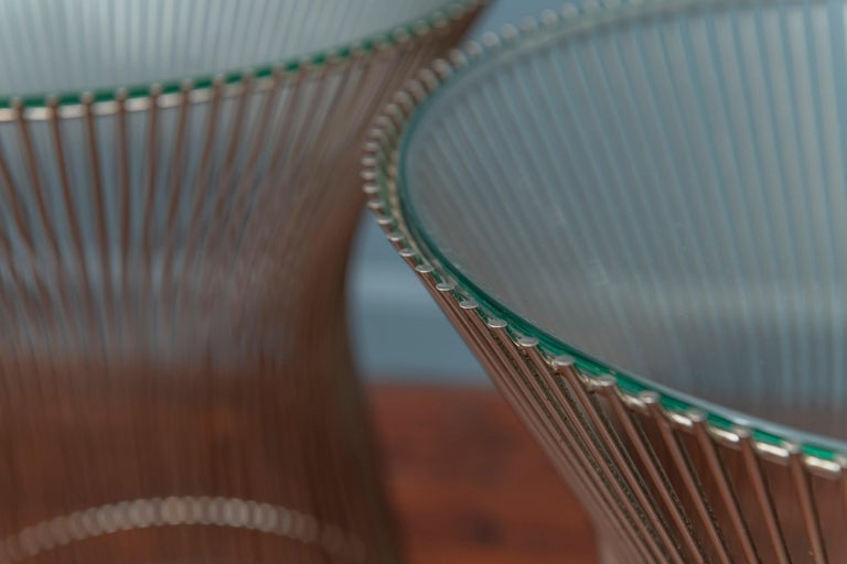 Warren Platner for Knoll Side Tables In Good Condition For Sale In San Francisco, CA