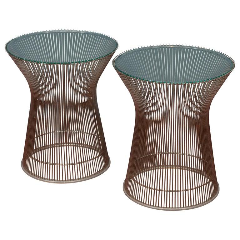 Warren Platner for Knoll Side Tables For Sale