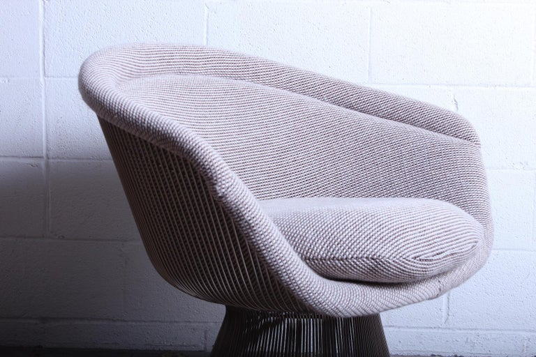 Warren Platner Lounge Chair for Knoll In Good Condition For Sale In Dallas, TX