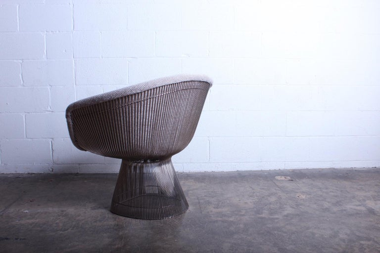 Mid-20th Century Warren Platner Lounge Chair for Knoll For Sale